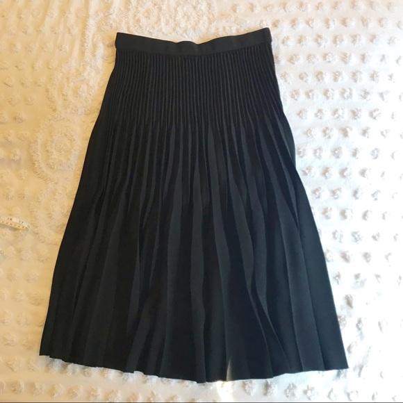 61e0c70b9 COS Dresses & Skirts - NWOT COS Black Pleated Midi Skirt